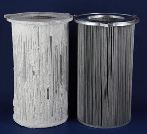 regeneration de filtre de depoussierage